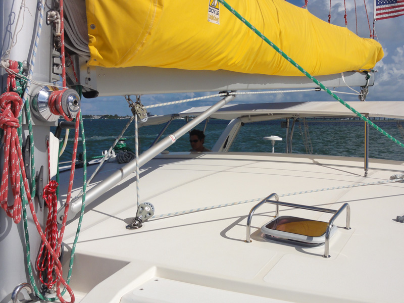 Preowned Sail Catamarans for Sale 2004 Leopard 47 Sails & Rigging